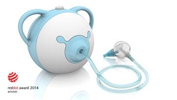 Nosiboo Pro 0-6 SK blue elektrická nosná odsávačka  - Brendon - 16556