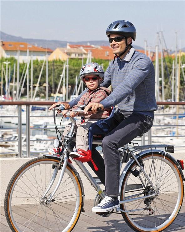 OK Baby Orion Grey-Red bicikliülés előre - Brendon - 18685