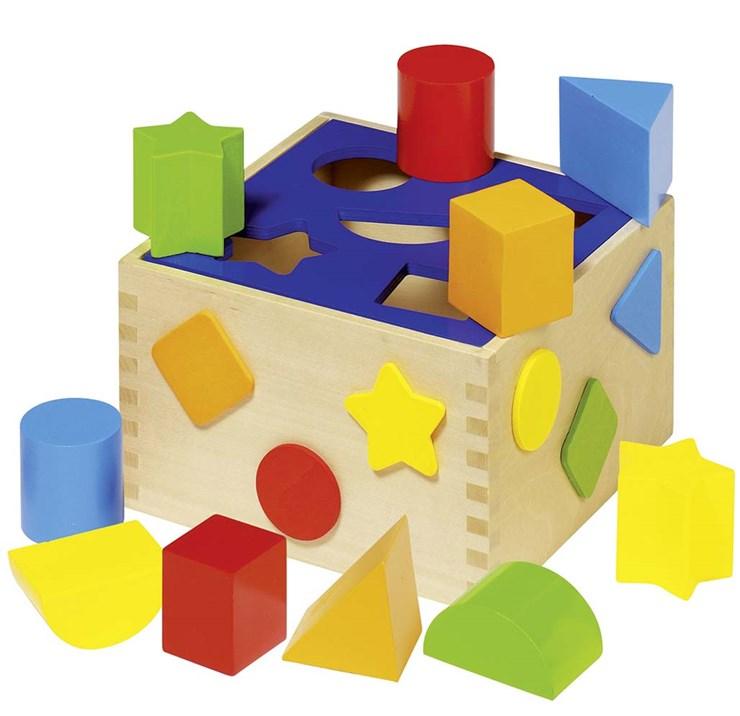 Goki Sort Box colorful zjednocovanie tvarov a farieb - Brendon - 19193
