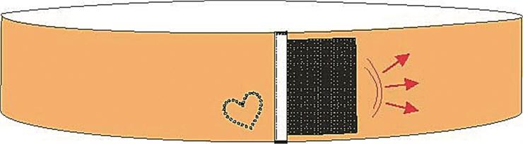 Anita 1707 001 Black tehotenský podporný pás - Brendon - 19374