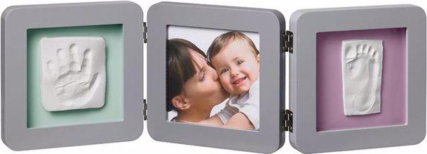 Baby Art My Baby Touch Double Grey fényképtartó - Brendon - 21142