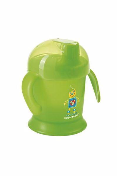 Canpol babies Non-spill cup Smiley 200 ml  Mixed colors itatópohár - Brendon - 21211