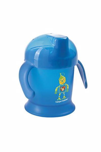 Canpol babies Non-spill cup Smiley 200 ml  Mixed colors itatópohár - Brendon - 21212