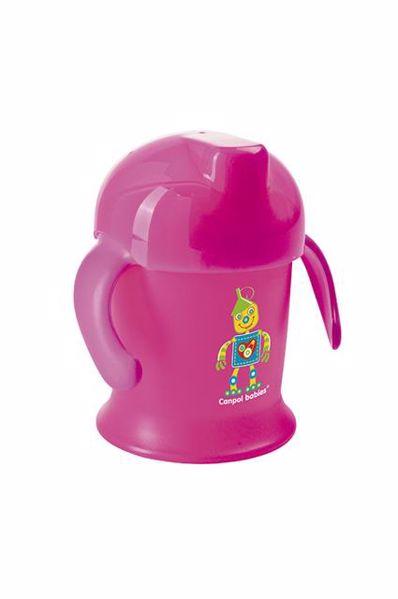 Canpol babies Non-spill cup Smiley 200 ml  Mixed colors itatópohár - Brendon - 21213