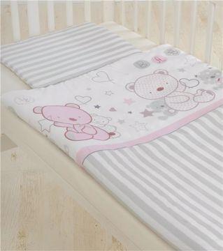 Brendon HUN-M/90*130 Rose Bear posteľná bielizeň - Brendon - 22059