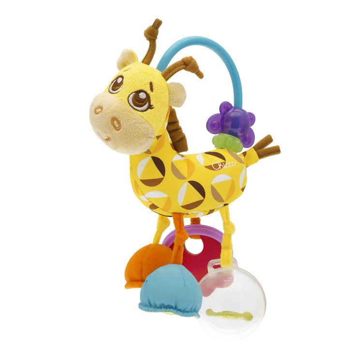 Chicco First Activity Mr.Giraffe WS csörgő - Brendon - 24663