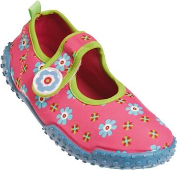 fb283eeebfbe Playshoes 174759 900 Turquise Flowers plážová obuv