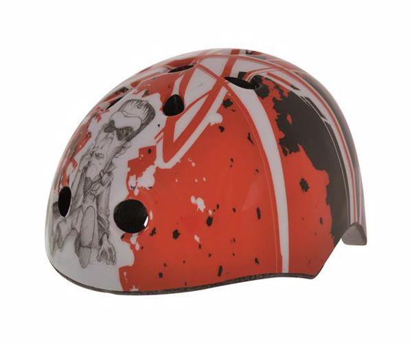Bellelli Baby Helmet Skate M Red Graffiti prilba - Brendon - 25478