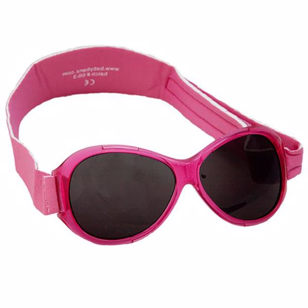 Baby Banz Retro Sungalss pink slnečné okuliare - Brendon - 25681
