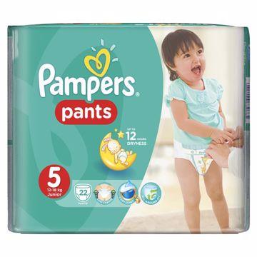 Pampers Pants Carry Pack 5 Junior 22 pcs  bugyipelenka - Brendon - 27005