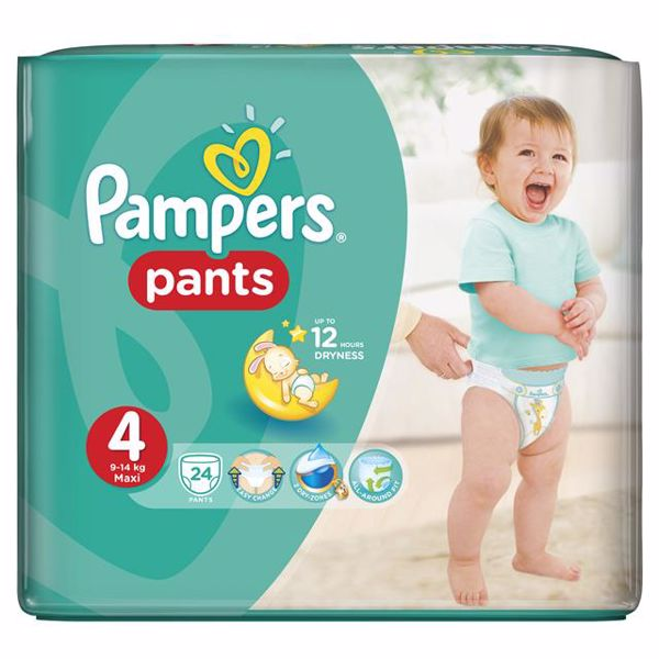 Pampers Pants Carry Pack 4 Maxi 24 pcs  bugyipelenka - Brendon - 27006