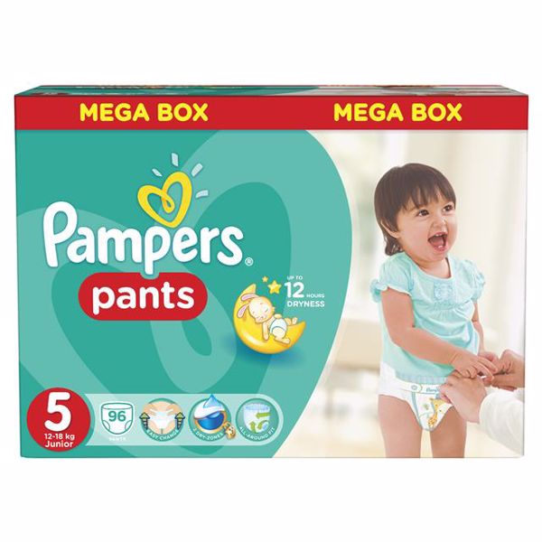 Pampers Pants Mega Box 5 Junior 96 pcs  bugyipelenka - Brendon - 27011