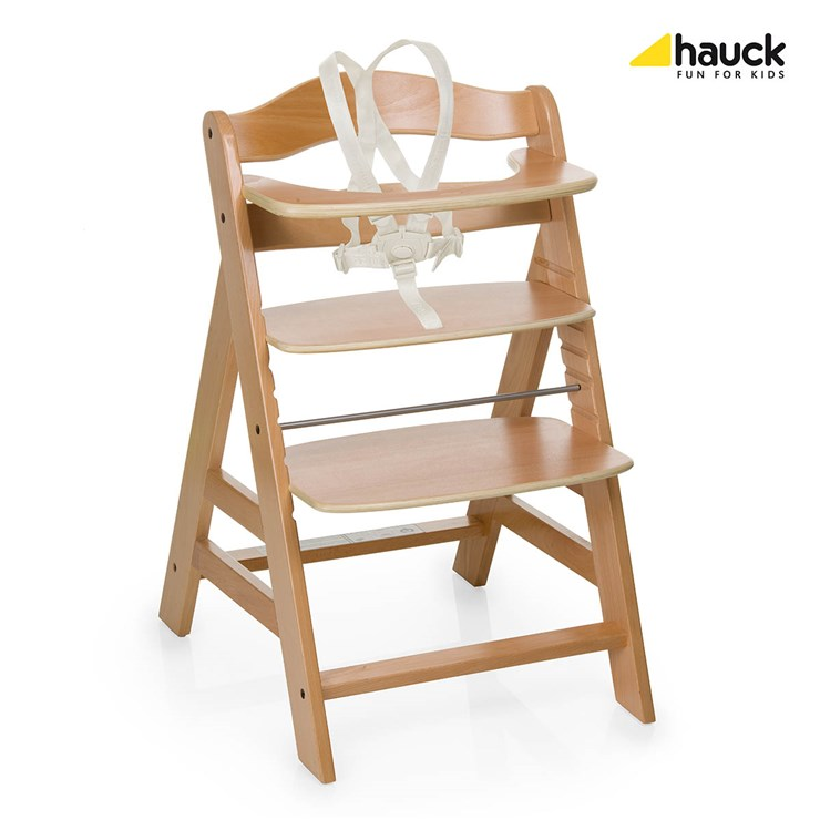 Hauck Alpha+ Natur etetőszék fa - Brendon - 27511 ... 32b63c80ce