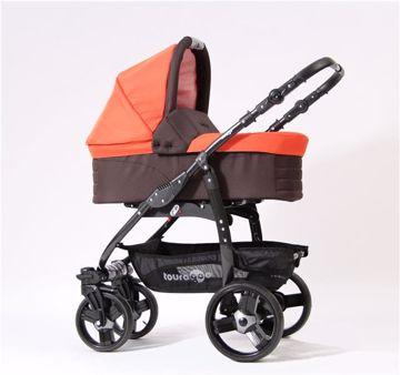 Touragoo Flame Orange/Brown babakocsi - Brendon - 27895