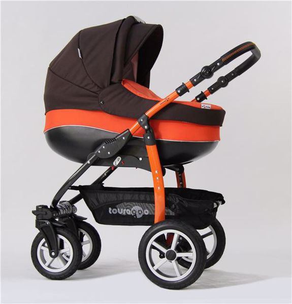 Touragoo Adventure Air Brown Orange babakocsi - Brendon - 27949 ... 43125d4afb