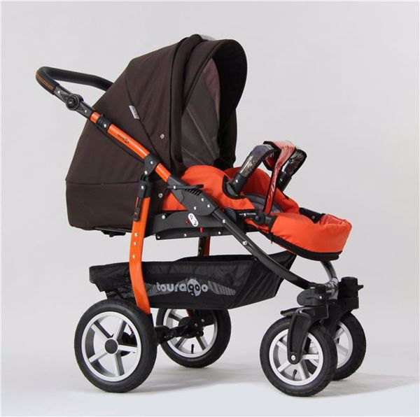 ... Touragoo Adventure Air Brown Orange babakocsi - Brendon - 27950 ... 1ad997f26d