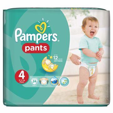 Pampers Pants Carry Pack 4 Maxi 24 pcs  plienkové nohavičky - Brendon - 28006
