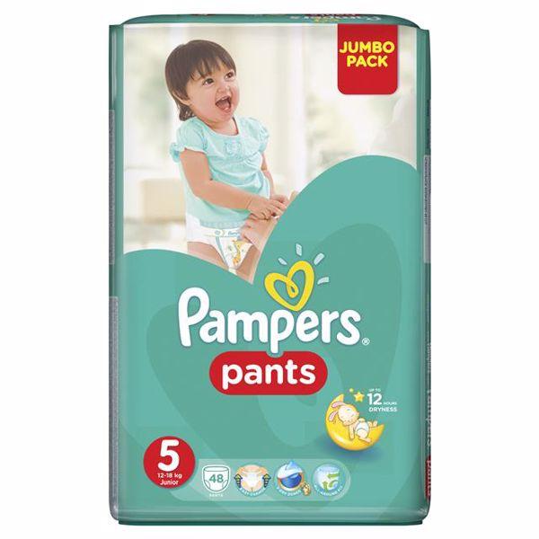Pampers Pants Jumbo Pack 5 Junior 48 pcs  plienkové nohavičky - Brendon - 28008