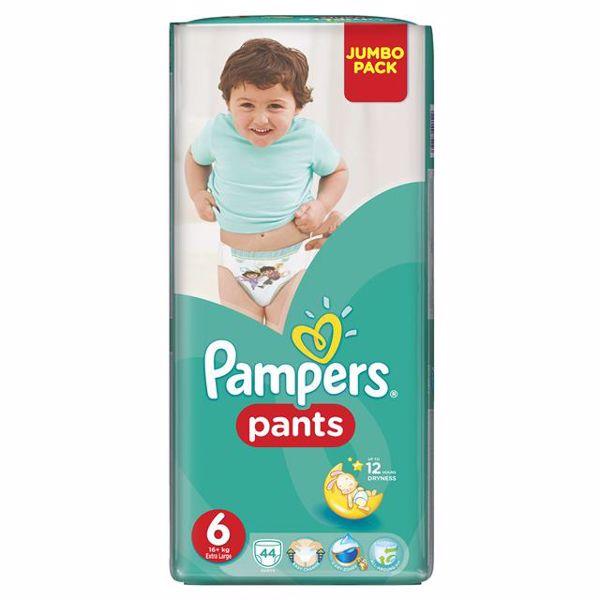 Pampers Pants Jumbo Pack 6 XL 44 pcs  plienkové nohavičky - Brendon - 28010