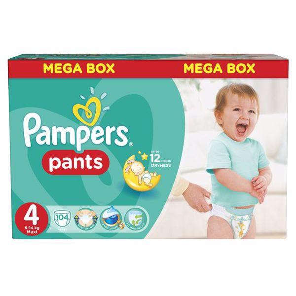 Pampers Pants Mega Box 4 Maxi 104 pcs  plienkové nohavičky - Brendon - 28012