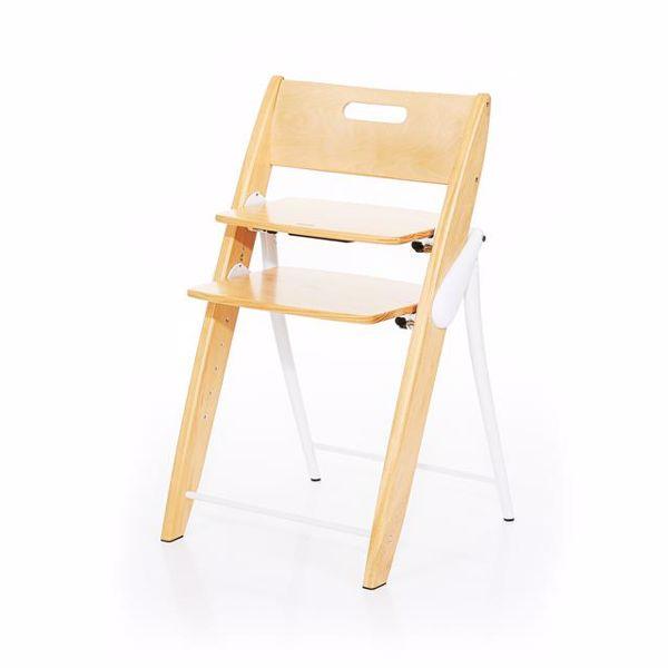 ABC Design Hopper Nature stolička na kŕmenie drevená - Brendon - 28824