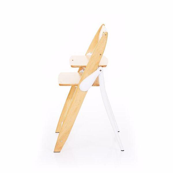ABC Design Hopper Nature stolička na kŕmenie drevená - Brendon - 28825