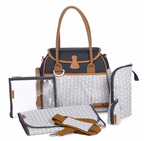 Babymoov Style bag black pelenkázótáska - Brendon - 30315