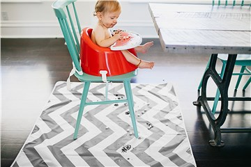 Prince LionHeart catchALL floor mat Chevron Grey & White padlóvédő szőnyeg - Brendon - 30983