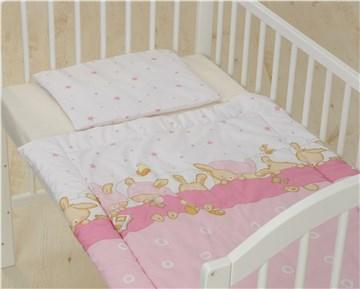 Bollaby 2RK-M/70*90 Bunny Rose dvojdielna posteľná súprava - Brendon - 31211