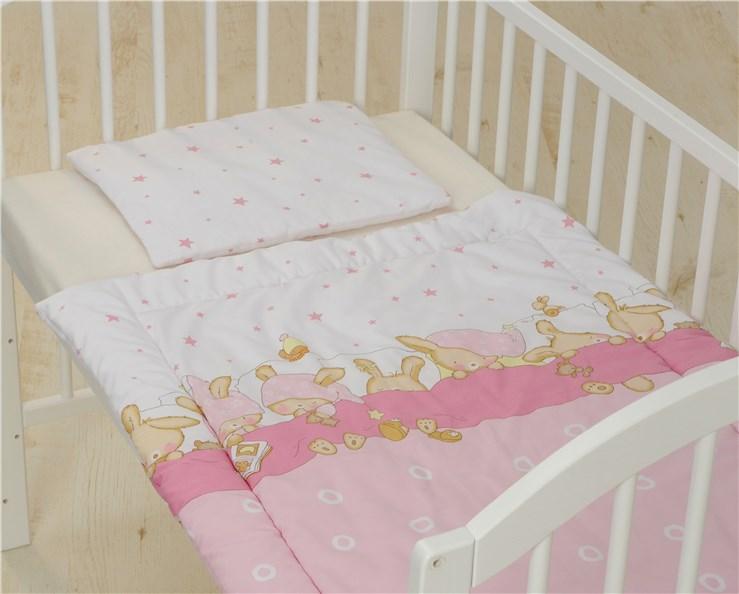 Bollaby 2RK-M/70*90 Bunny Rose 2 dielna posteľná súprava - Brendon - 31211