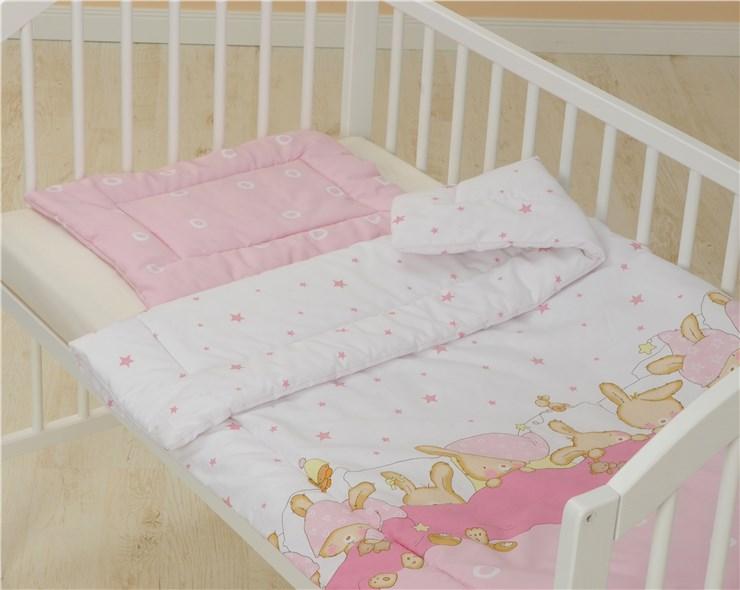 Bollaby 2RN-M/90*130 Bunny Rose dvojdielna posteľná súprava - Brendon - 31212