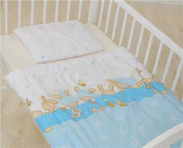 Bollaby HUK-M/70*90 Bunny Blue posteľná bielizeň - Brendon - 31219