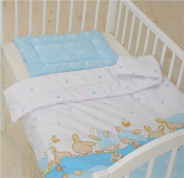 Bollaby HUN-M/90*130 Bunny Blue posteľná bielizeň - Brendon - 31220