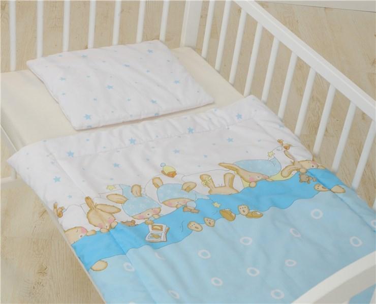 Bollaby 2RK-M/70*90 Bunny Blue dvojdielna posteľná súprava - Brendon - 31221
