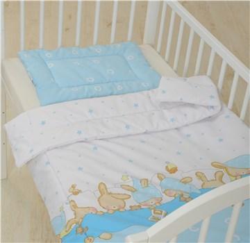Bollaby 2RN-M/90*130 Bunny Blue dvojdielna posteľná súprava - Brendon - 31222