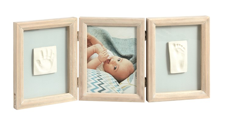 Baby Art My Baby Touch Double White Stormy fotorám - Brendon - 31657
