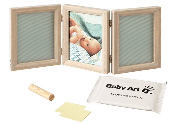 Baby Art My Baby Touch Double White Stormy fotorám - Brendon - 31658