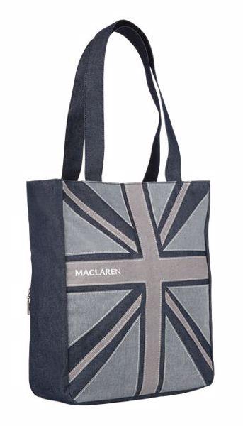 Maclaren Magazine Tote Denim Flag Tote  pelenkázótáska - Brendon - 33432