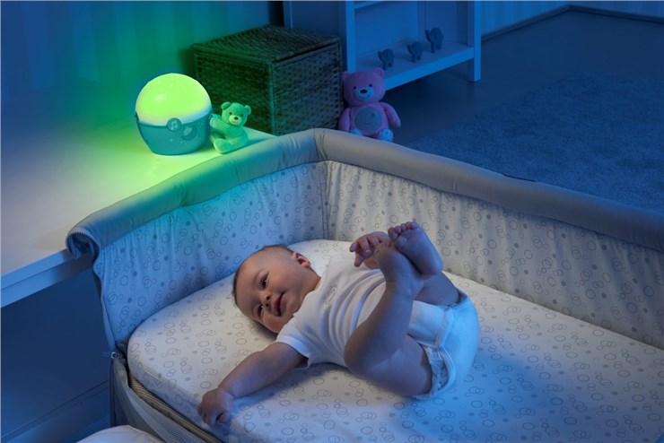 Chicco Next2 STARS projector boy WS altató játék - Brendon - 36039