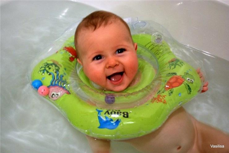 Baby Ring Small green úszógumi - Brendon - 36293