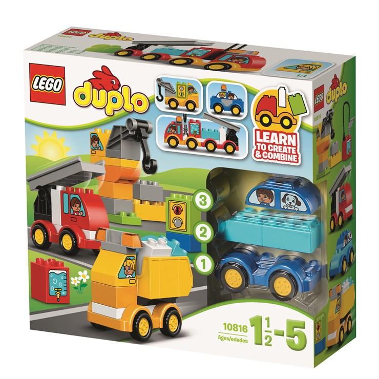LEGO DUPLO My First Cars and Trucks 10816  építőjáték - Brendon - 36463