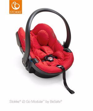 Stokke iZi Go Modular 40-75cm Red hordozó i-Size 92150e8daa