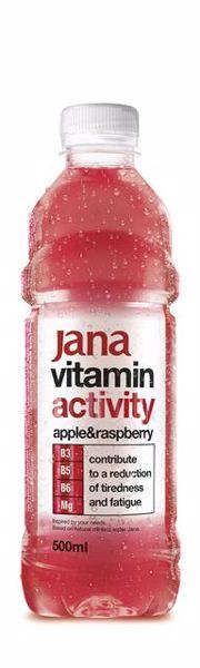 Jana Activity Apple&raspberry 0,5l  vitaminvíz - Brendon - 36919