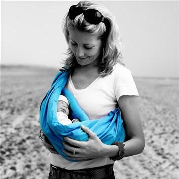 079d73f02a Minimonkey Baby sling turquoise hordozókendő