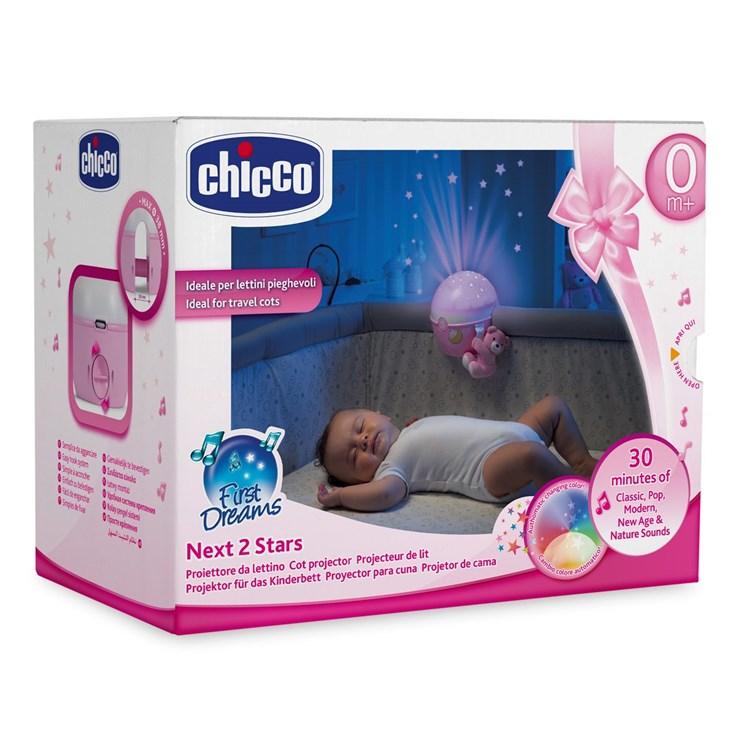 Chicco Next2 STARS projector girl WS hračka na uspávanie - Brendon - 37040