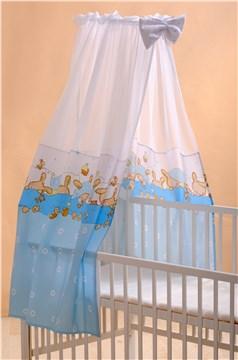 Bollaby BF Bunny Blue baldachýnová záclona - Brendon - 37051