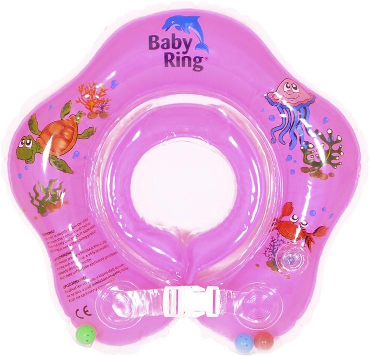 Baby Ring Middle pink koleso na plávanie - Brendon - 37057