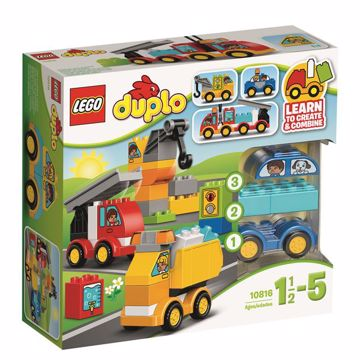 LEGO DUPLO My First Cars and Trucks 10816  stavebnica - Brendon - 37462
