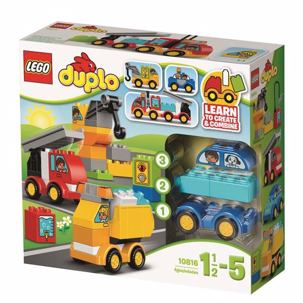 LEGO DUPLO My First Cars and Trucks 10816  stavebnica - Brendon - 37463