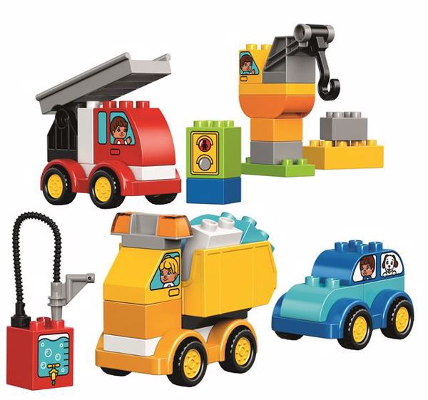 LEGO DUPLO My First Cars and Trucks 10816  stavebnica - Brendon - 37465